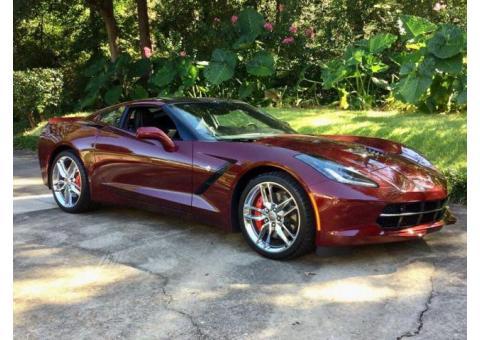2016 Corvette Stingray  $45,000